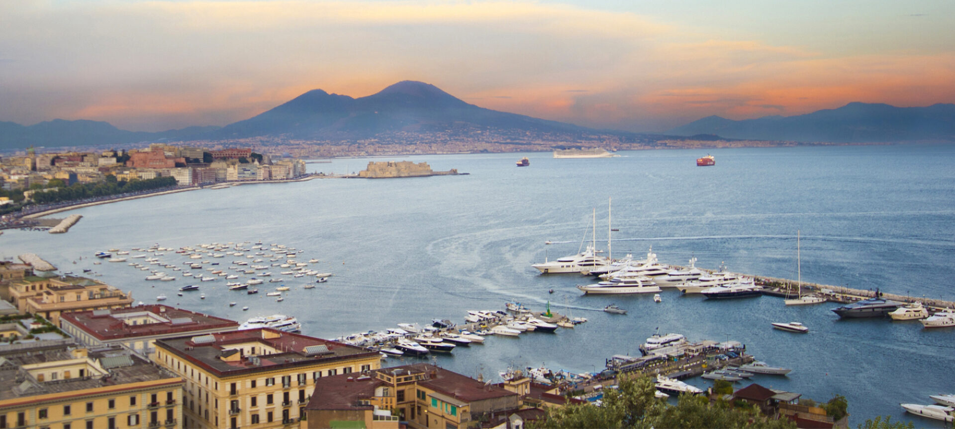 Veduta aerea Golfo di Napoli - Cittamoderna