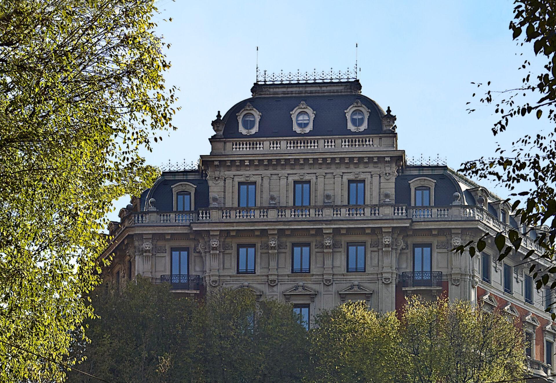 Foro Buonaparte 16 Milano - Esterno palazzo - Immobili Cittamoderna