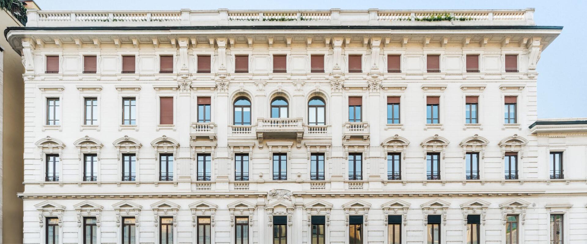 Manzoni 38 Milano - Immobili Cittamoderna