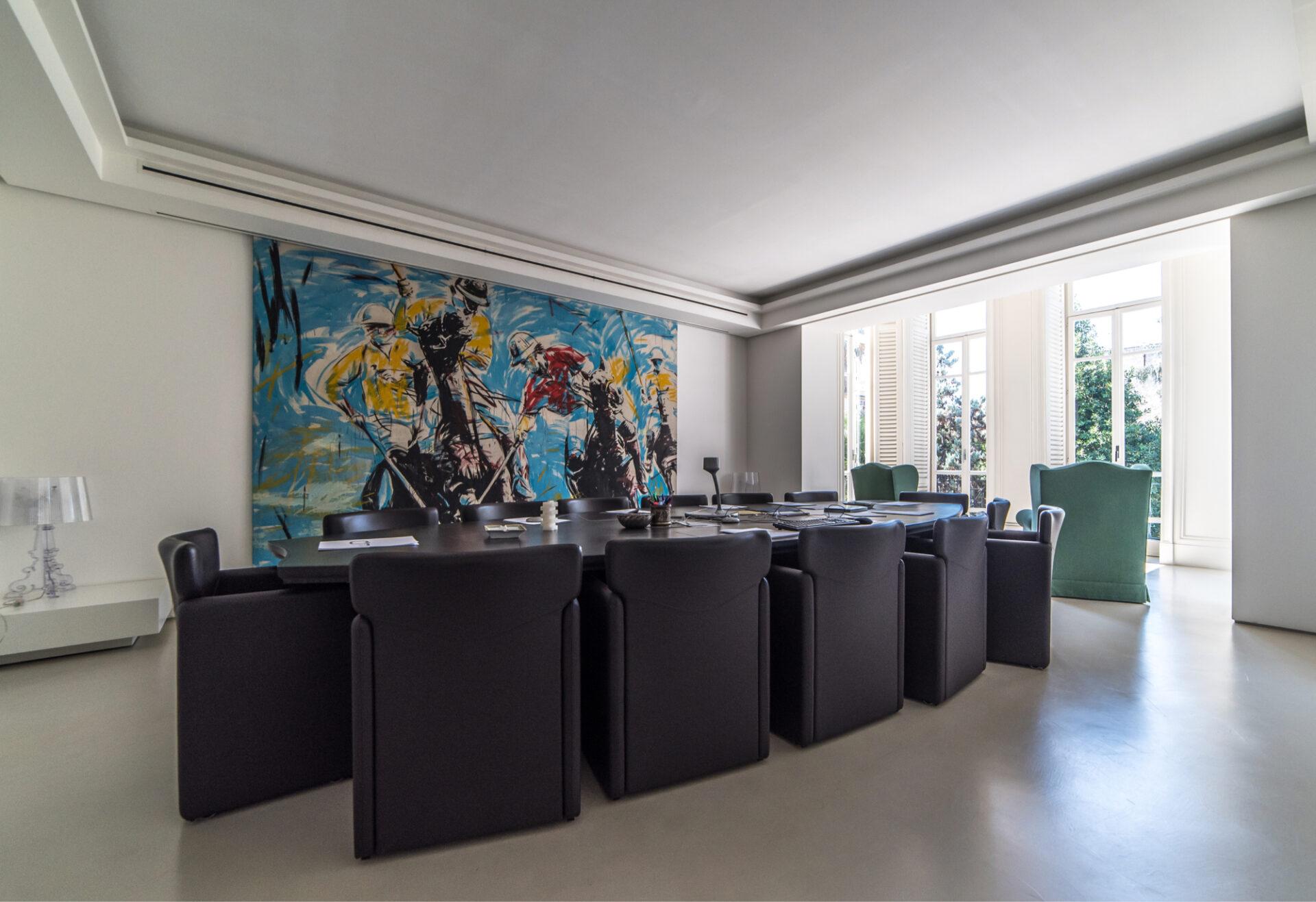 Pontano 44 Napoli - Sala riunioni - Immobili Cittamoderna